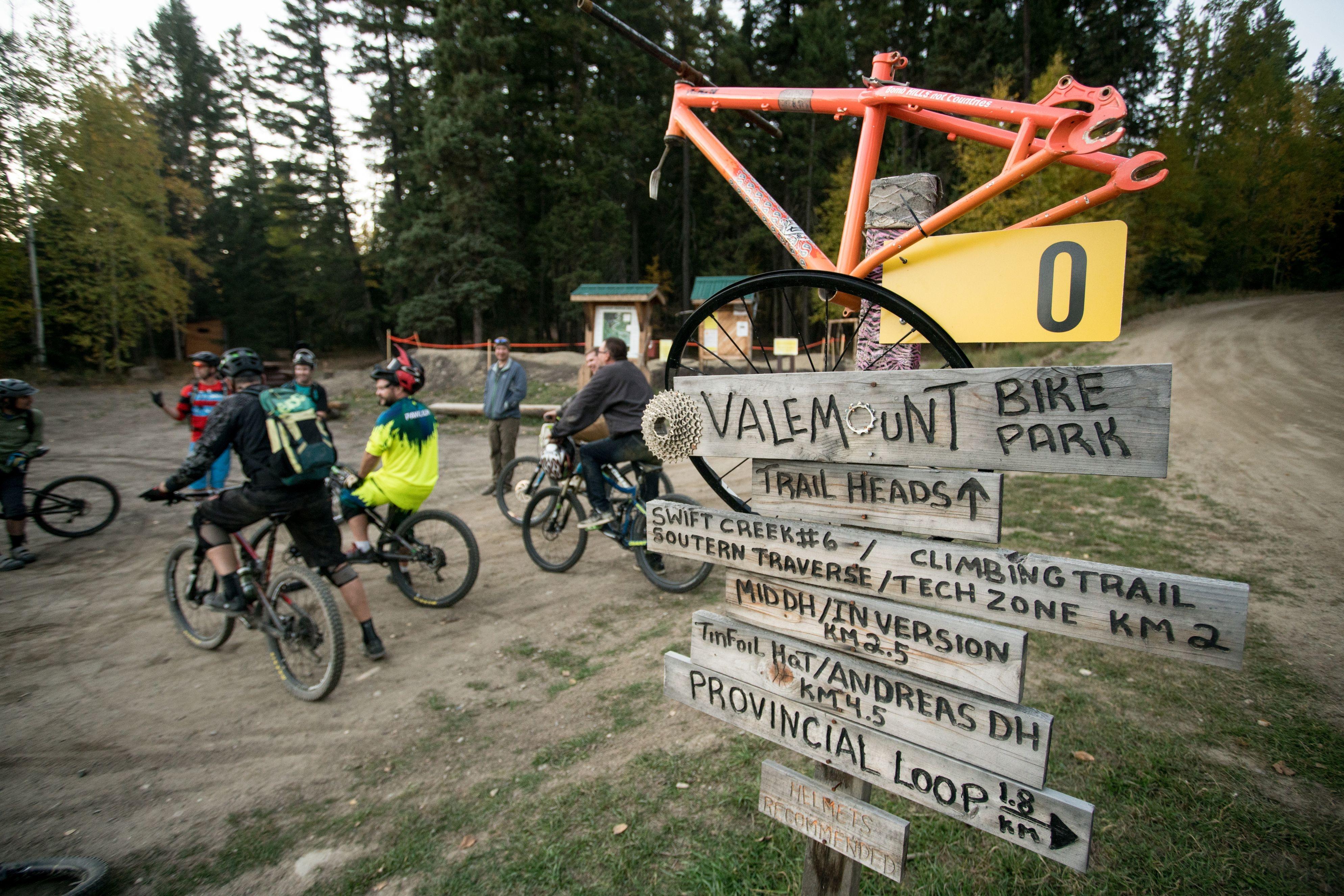 Valemount Bike Park directory
