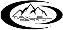 Maxwell Family Logo, Sledding sponsor in Valemount