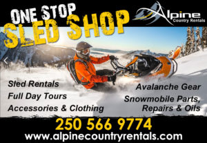 Alpine Country Rentals in Valemount, BC