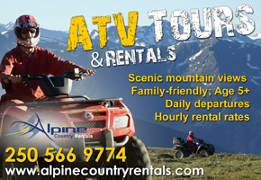 Alpine Country Rentals - ATV Tours and Rentals in Valemount, BC
