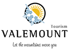 Snowmobiling Valemount Tourism Logo