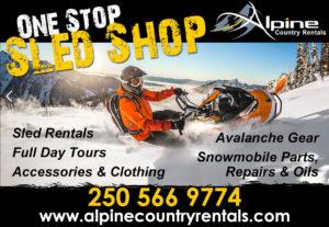 Alpine Country Rentals in Valemount, BC